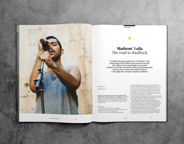 modern magazine layout design for inspiration
