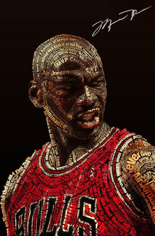 Amazing-typography-michael-jordan