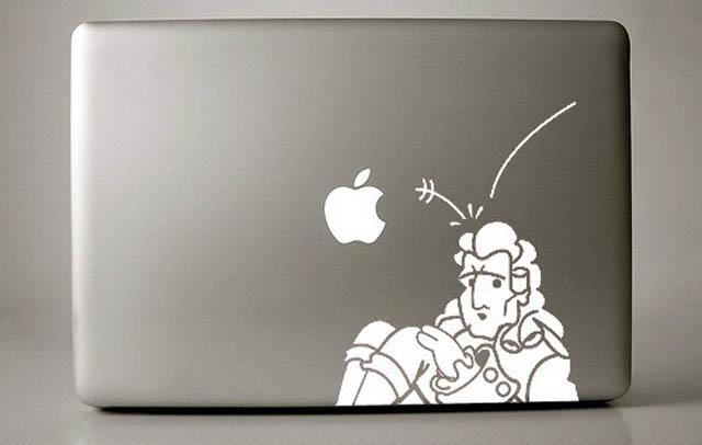 newton-macbook-decal-sticker