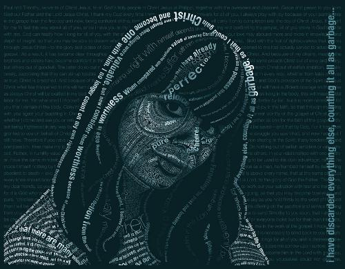philippians-typography-portrait
