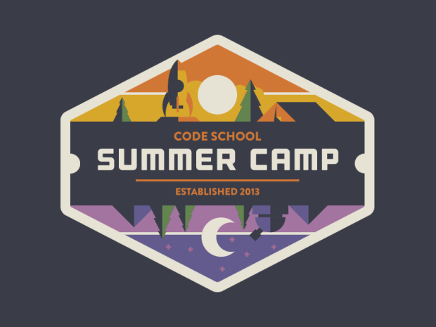 The most beautiful and clean badge design from dribbble for Camp designs